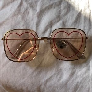Accessories - NEW - Heart Sunglasses
